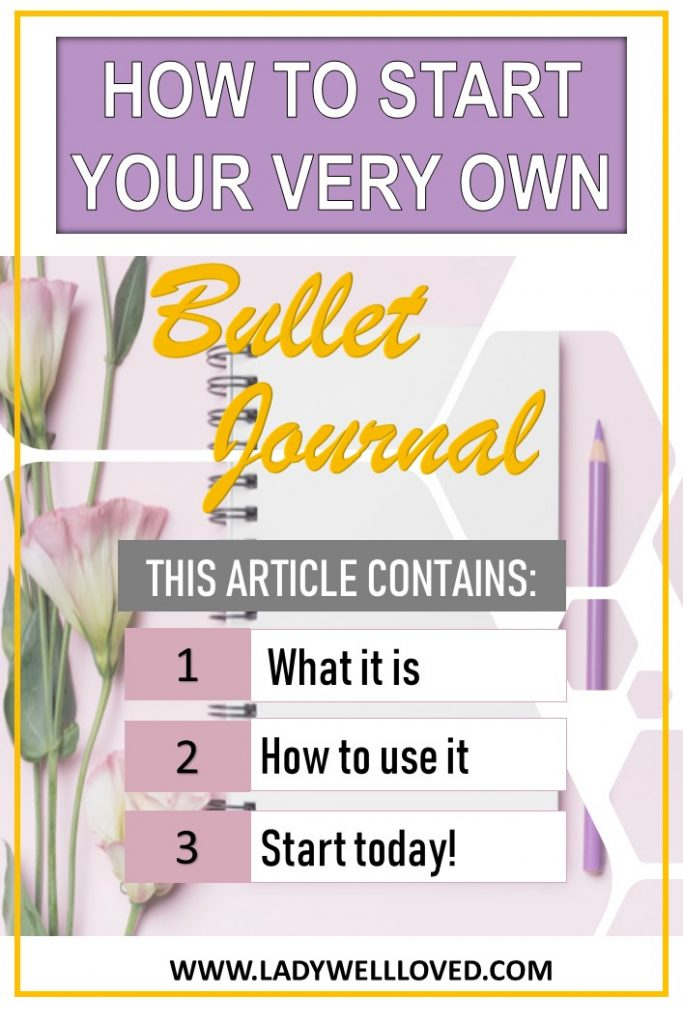 Answers to what is a bullet journal and how to start a bullet journal
