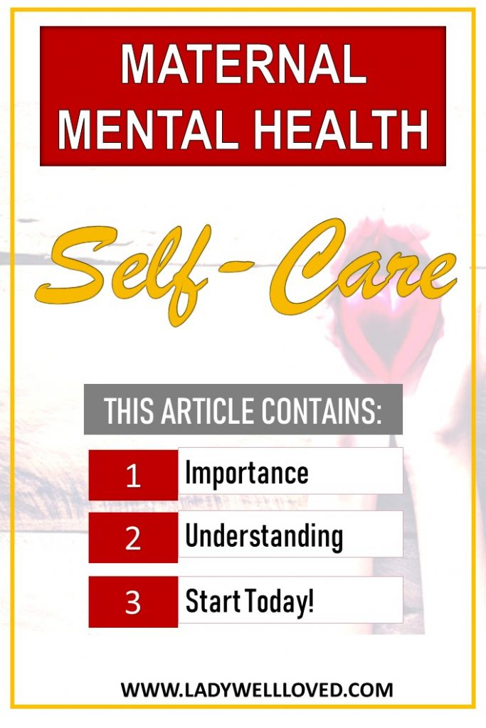 mental health. self-care, maternal mental health