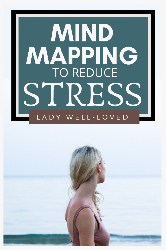 mind mapping, stress, stress management, stressed women